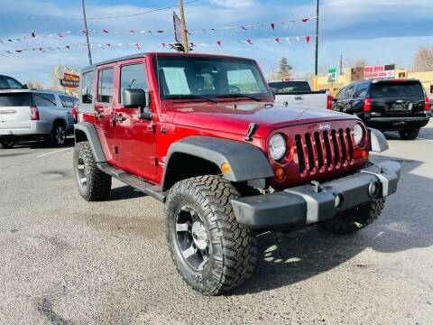 2009 Jeep Wrangler Unlimited for sale at Lion's Auto INC in Denver CO