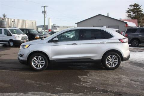 2017 Ford Edge for sale at SCHMITZ MOTOR CO INC in Perham MN