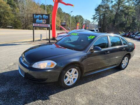 2013 Chevrolet Impala for sale at Let's Go Auto in Florence SC
