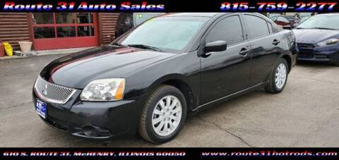 2012 Mitsubishi Galant for sale at ROUTE 31 AUTO SALES in McHenry IL