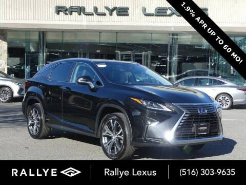 2017 Lexus RX 450h for sale at RALLYE LEXUS in Glen Cove NY