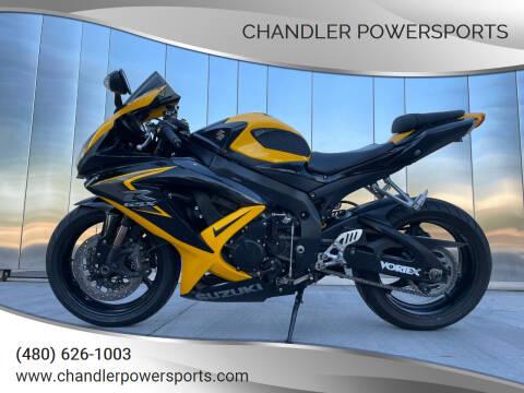 2008 Suzuki GSX-R600 for sale at Chandler Powersports in Chandler AZ