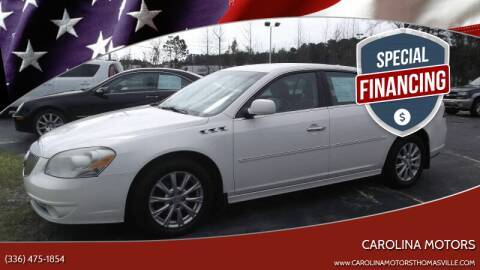2011 Buick Lucerne for sale at CAROLINA MOTORS in Thomasville NC