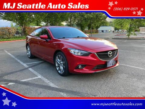 2015 Mazda MAZDA6 for sale at MJ Seattle Auto Sales in Kent WA