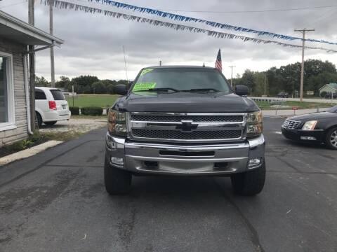2012 Chevrolet Silverado 1500 for sale at Tonys Auto Sales Inc in Wheatfield IN