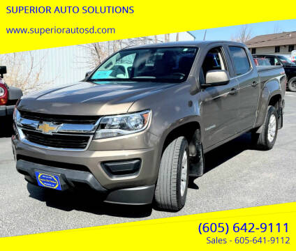 2016 Chevrolet Colorado for sale at SUPERIOR AUTO SOLUTIONS in Spearfish SD