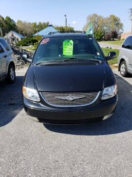2004 Chrysler Town and Country for sale at The Back Lot in Lebanon PA