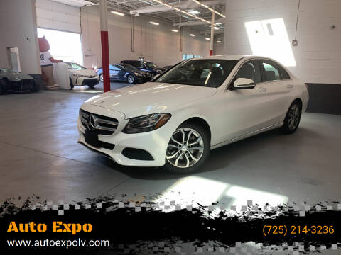 2016 Mercedes-Benz C-Class for sale at Auto Expo in Las Vegas NV