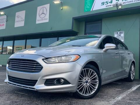 2014 Ford Fusion for sale at KARZILLA MOTORS in Oakland Park FL