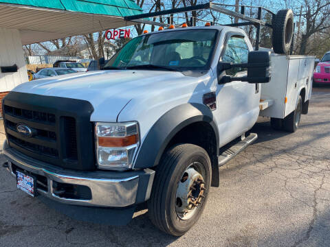 2008 Ford F-450 Super Duty for sale at New Wheels in Glendale Heights IL