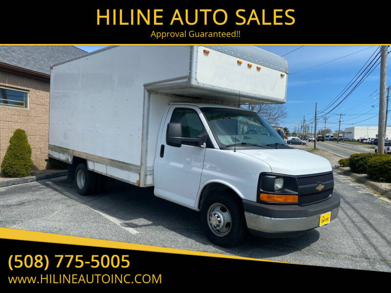 2014 Chevrolet Express Cutaway for sale at HILINE AUTO SALES in Hyannis MA