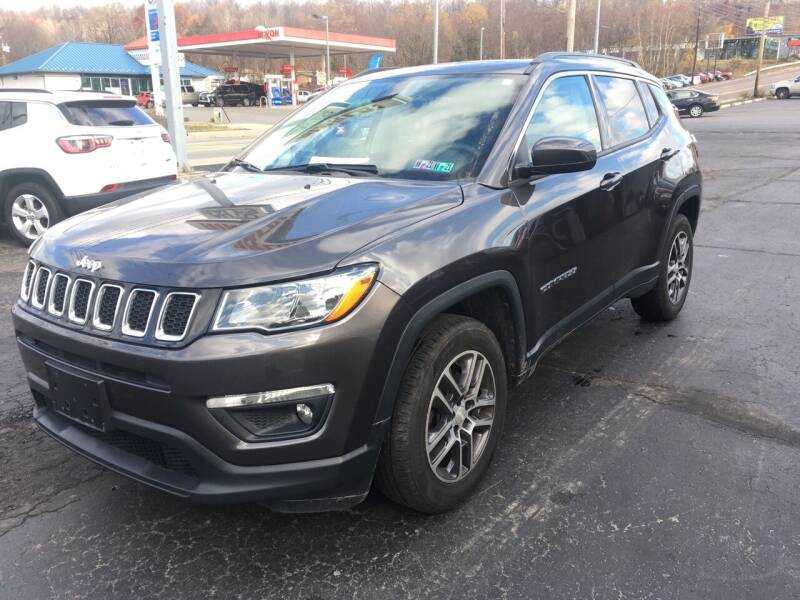 2017 Jeep Compass for sale at Rinaldi Auto Sales Inc in Taylor PA