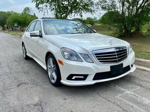2011 Mercedes-Benz E-Class for sale at Texas Auto Trade Center in San Antonio TX
