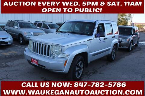2008 Jeep Liberty for sale at Waukegan Auto Auction in Waukegan IL
