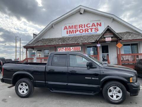 2004 Dodge Ram Pickup 1500 for sale at American Imports INC in Indianapolis IN