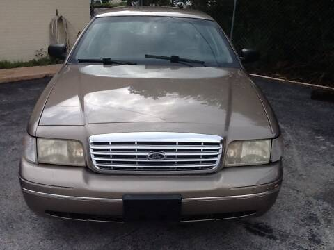 2004 Ford Crown Victoria for sale at Easy Credit Auto Sales in Cocoa FL