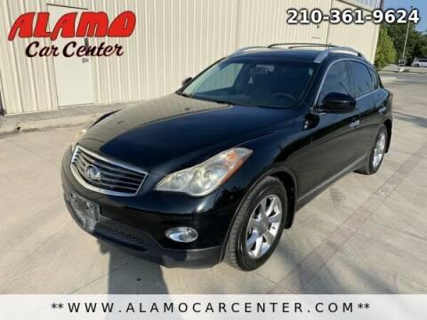 2008 Infiniti EX35 for sale at Alamo Car Center in San Antonio TX