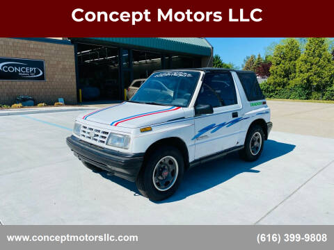 1991 GEO Tracker for sale at Concept Motors LLC in Holland MI