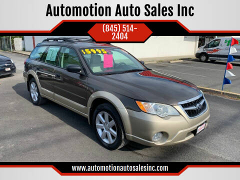 2008 Subaru Outback for sale at Automotion Auto Sales Inc in Kingston NY