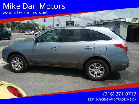 2008 Hyundai Veracruz for sale at Mike Dan Motors in Niagara Falls NY