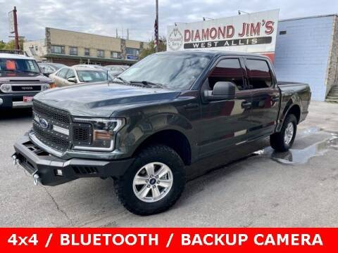 2018 Ford F-150 for sale at Diamond Jim's West Allis in West Allis WI