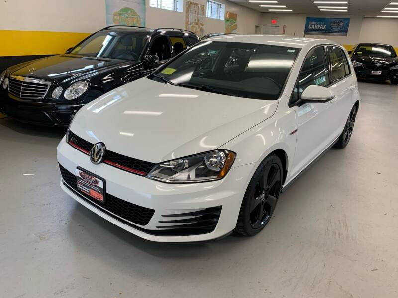 2017 Volkswagen Golf GTI for sale at Newton Automotive and Sales in Newton MA