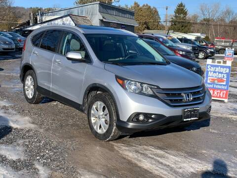 2014 Honda CR-V for sale at Saratoga Motors in Gansevoort NY