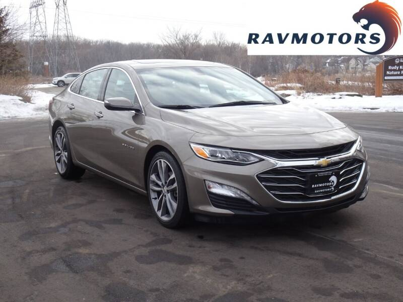 2020 Chevrolet Malibu for sale at RAVMOTORS in Burnsville MN