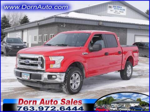 2017 Ford F-150 for sale at Jim Dorn Auto Sales in Delano MN