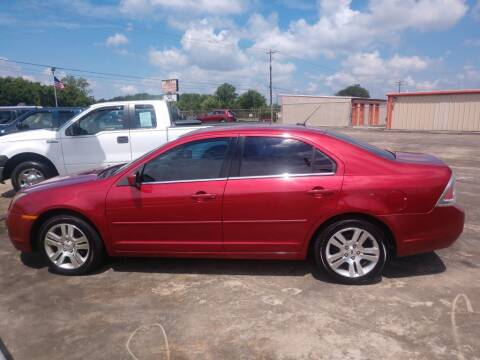 2007 Ford Fusion for sale at BIG 7 USED CARS INC in League City TX