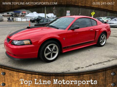 2003 Ford Mustang for sale at Top Line Motorsports in Derry NH