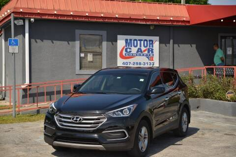 2018 Hyundai Santa Fe Sport for sale at Motor Car Concepts II - Kirkman Location in Orlando FL