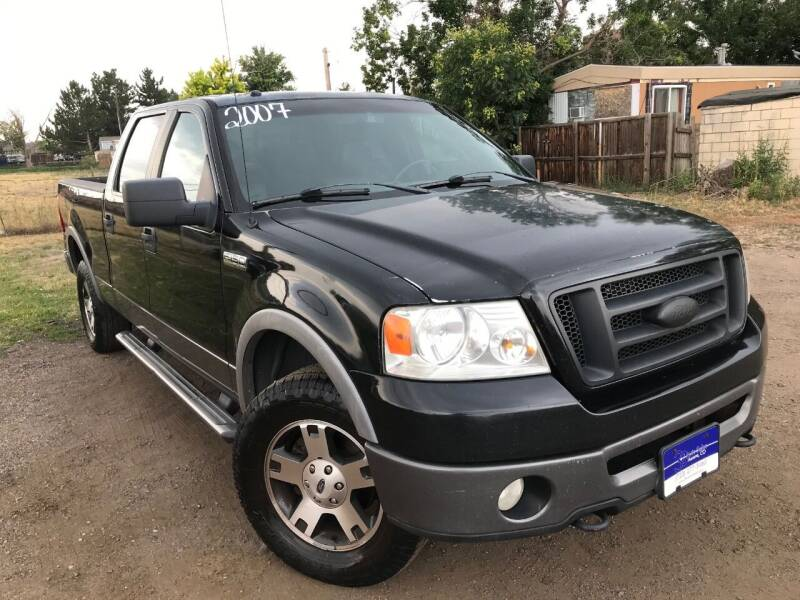 2007 Ford F-150 for sale at 3-B Auto Sales in Aurora CO