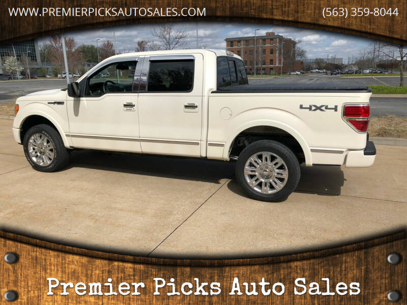 2009 Ford F-150 for sale at Premier Picks Auto Sales in Bettendorf IA