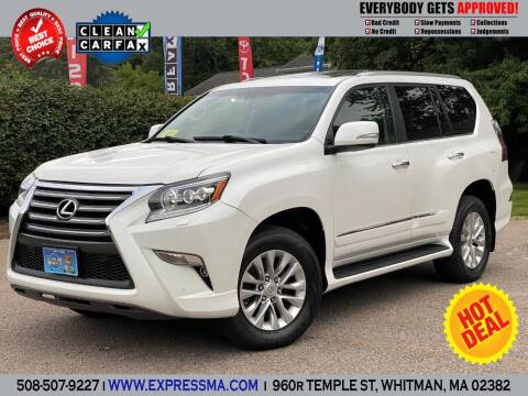 2015 Lexus GX 460 for sale at Auto Sales Express in Whitman MA