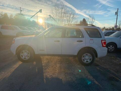 2008 Ford Escape for sale at Upstate Auto Sales Inc. in Pittstown NY