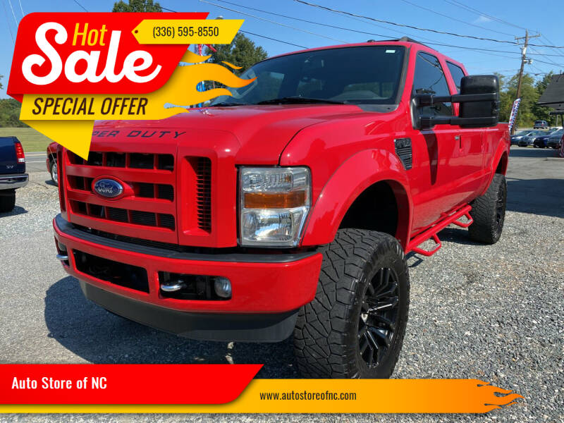 2009 Ford F-250 Super Duty for sale at Auto Store of NC in Walkertown NC