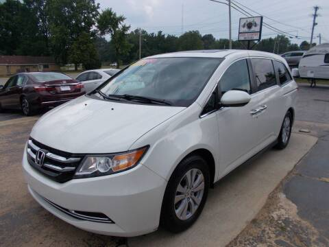 2015 Honda Odyssey for sale at High Country Motors in Mountain Home AR