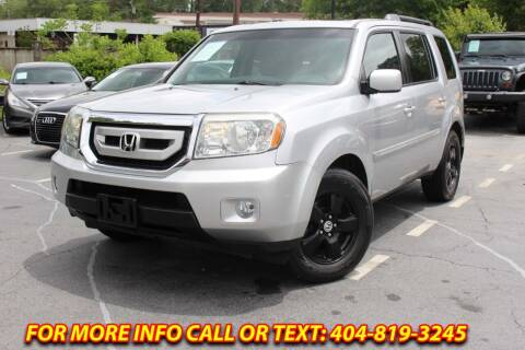 2010 Honda Pilot for sale at Five Brothers Auto Sales in Roswell GA