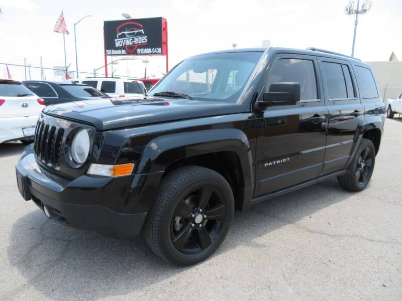 2014 Jeep Patriot for sale at Moving Rides in El Paso TX