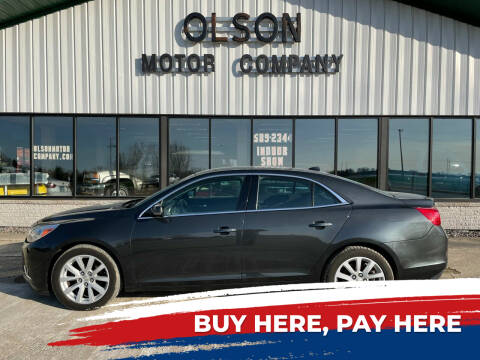 2014 Chevrolet Malibu for sale at Olson Motor Company in Morris MN