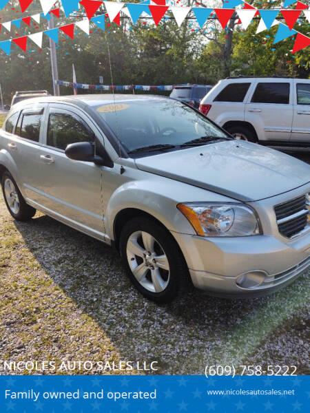 2011 Dodge Caliber for sale at NICOLES AUTO SALES LLC in Cream Ridge NJ