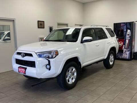 2018 Toyota 4Runner for sale at DAN PORTER MOTORS in Dickinson ND