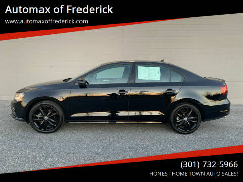 2018 Volkswagen Jetta for sale at Automax of Frederick in Frederick MD