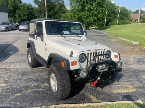 2003 Jeep Wrangler for sale at MacDonald Motor Sales in High Point NC