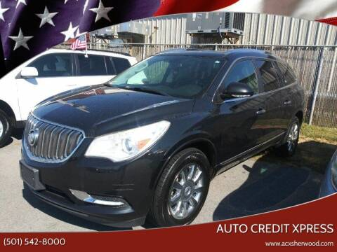 2015 Buick Enclave for sale at Auto Credit Xpress - Sherwood in Sherwood AR