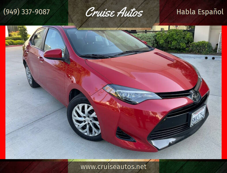 2019 Toyota Corolla for sale at Cruise Autos in Corona CA