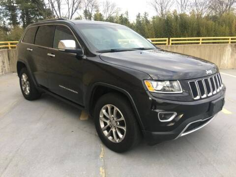 2015 Jeep Grand Cherokee for sale at Limitless Garage Inc. in Rockville MD