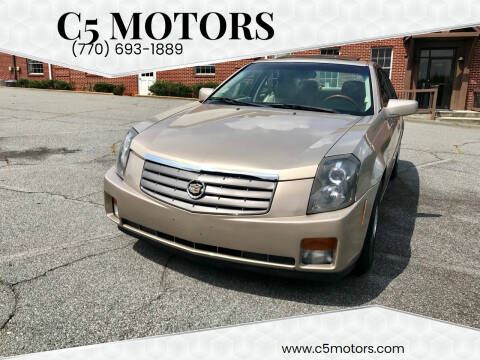 2005 Cadillac CTS for sale at C5 Motors in Marietta GA