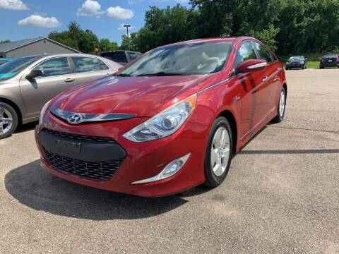 2012 Hyundai Sonata Hybrid for sale at Blake Hollenbeck Auto Sales in Greenville MI
